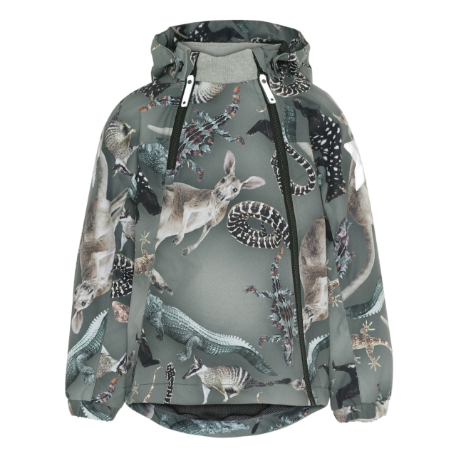 Molo Kids  Hopla  Camo Bush animals  Coat