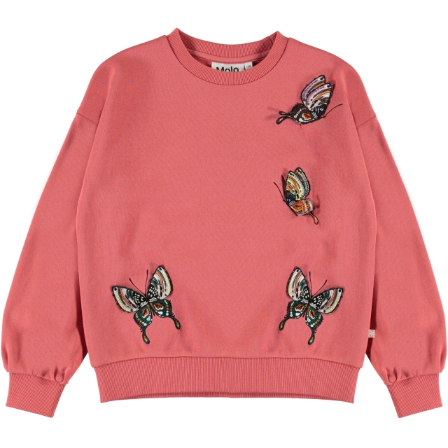 Molo Kids Malena Sweatshirt Faded Rose
