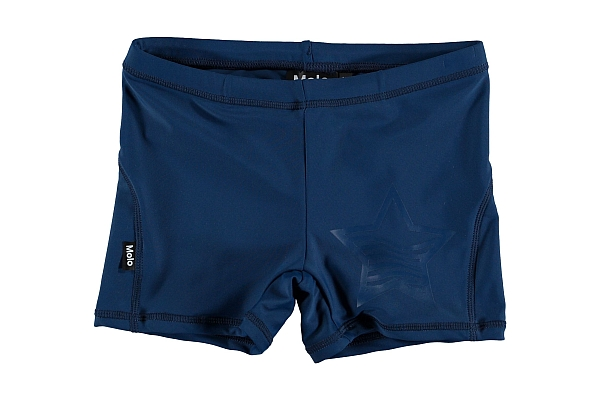 Molo Kids  Norton Solid Blue cave   UPf Shorts