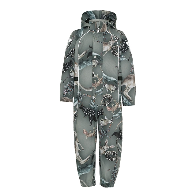 Molo Kids  Polly  Camo Bush Animals Overall
