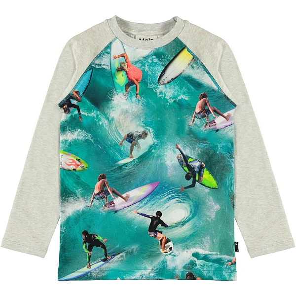 Molo Kids Remington Surf shirt