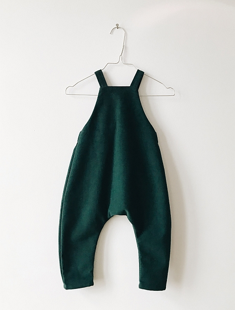 Monkind Moss Dungarees green