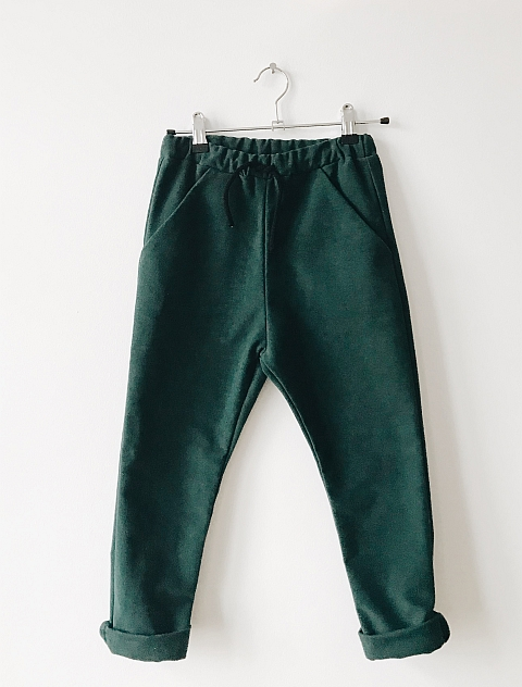 Monkind Moss Pocket pants green