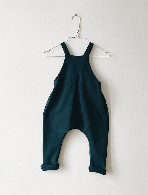 Monkind Space Dungarees blue