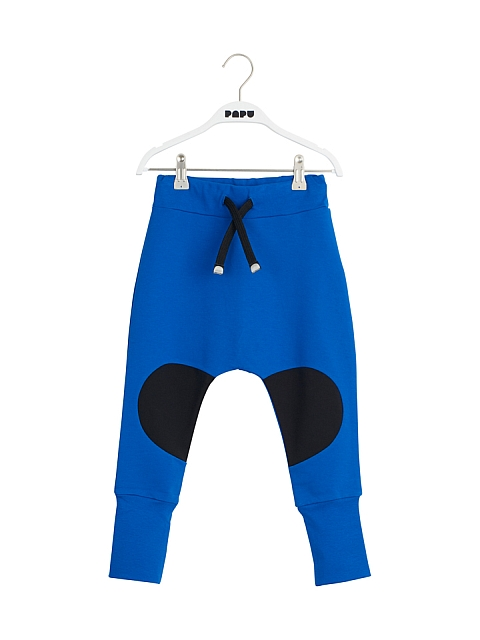 Papu Patch Baggy pants vivid blue