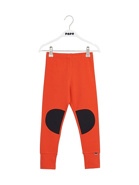 Papu Paikkaleggings Lava red, black