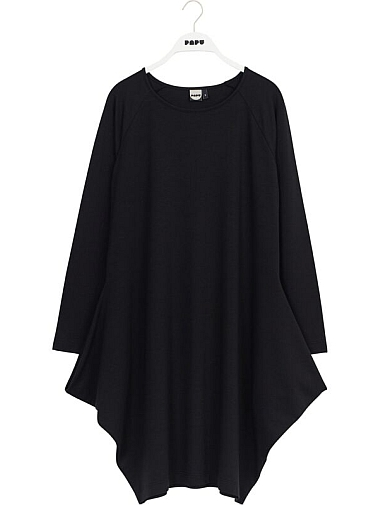 Papu Kanto Dress Black Jersey