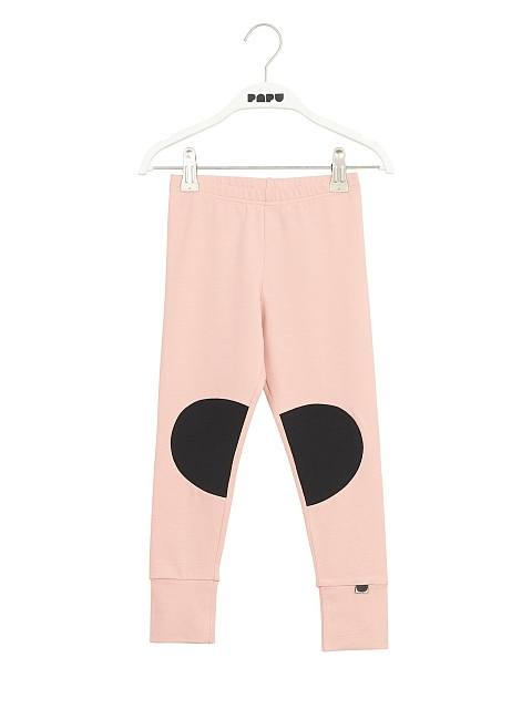 Papu Patch Leggings Dusty pink, black