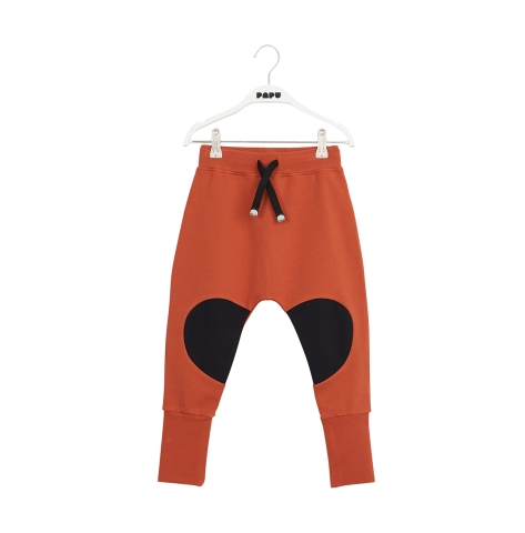 Papu Patch Baggy pants sugar brown