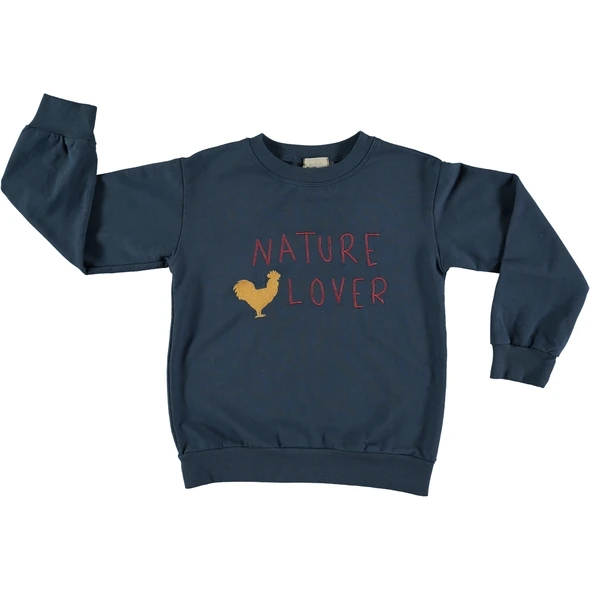 Pinata Pum Mercurio Sweat Navy Nature lowe