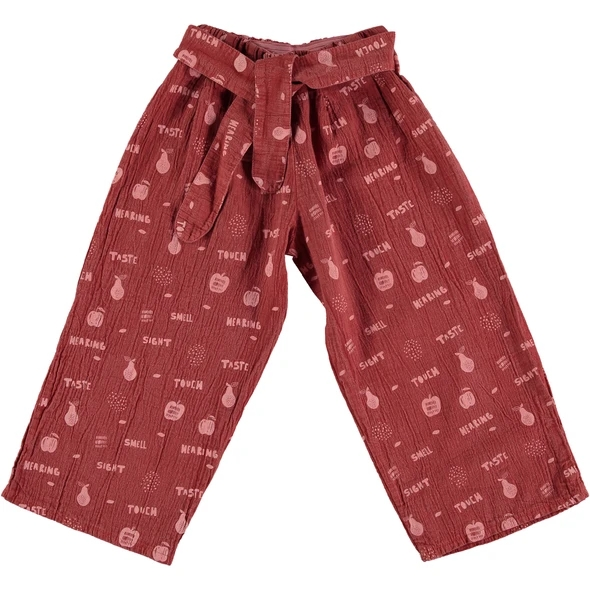 Pinata Pum Palazzo Trousers Say Cheese capucine