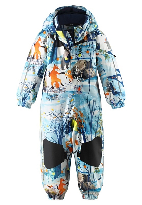 Reimatec Maa snowsuit Blue dream
