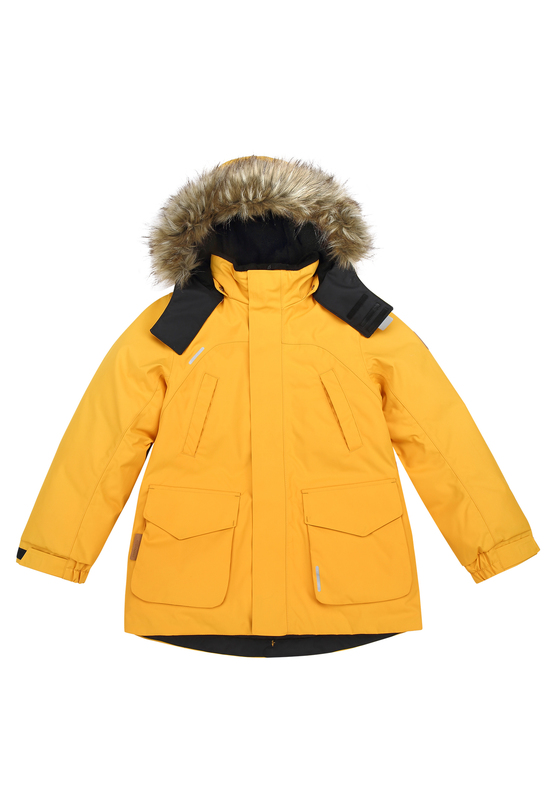 Reimatec Serkku Winterjacket Warm Yellow