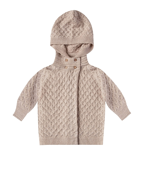 Rylee + Cru Baby Sweater coat Oat