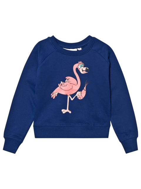 Tao & friends Flamingo Sweatshirt Marine