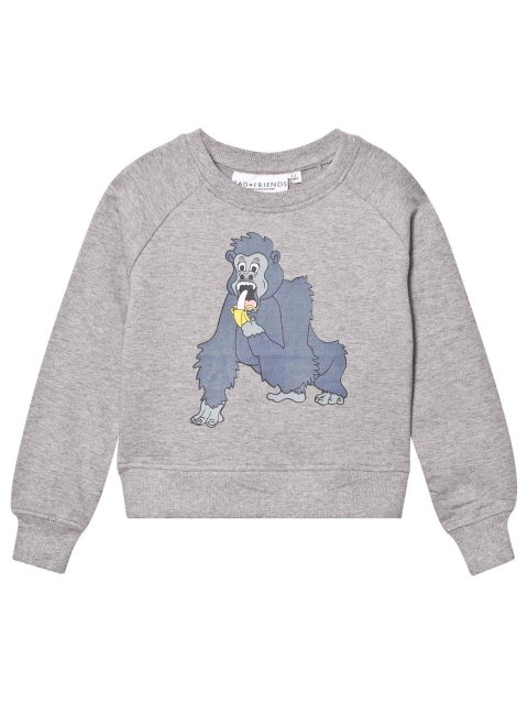 Tao & friends Gorilla Sweatshirt Grey