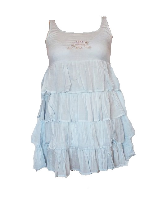Tina Wodstrup Frill dress dove