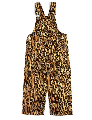 Wildkind Kids Ally Dungarees Leopard