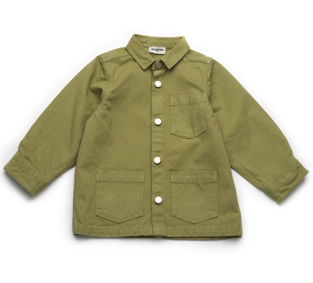 Wildkind Kids Tony Worker Jacket Olive