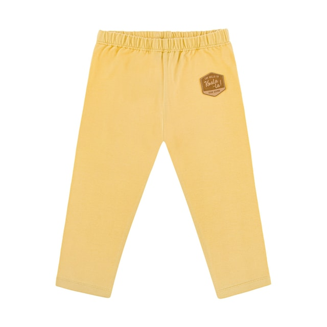 Dear Sophie  Basic Leggings Yellow