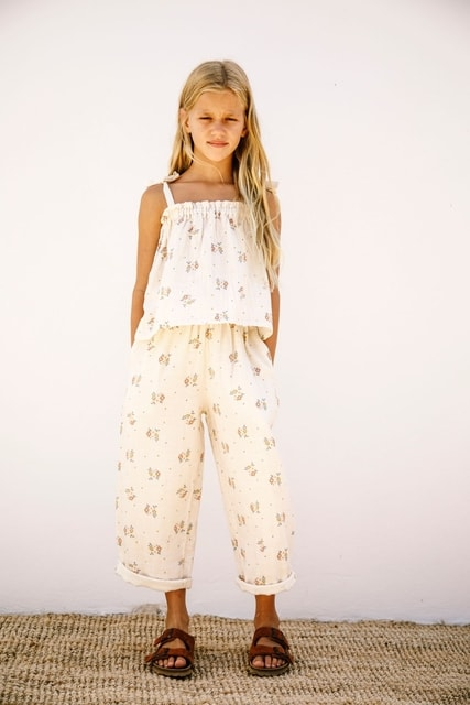 Liilu Claudia Pants Summer Blossom