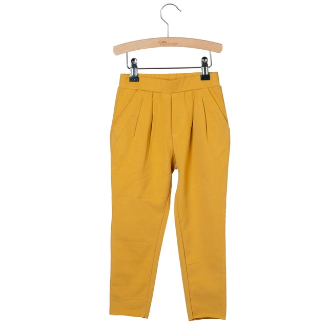 Little Hedonist Kobus Pleated Pants Amber gold