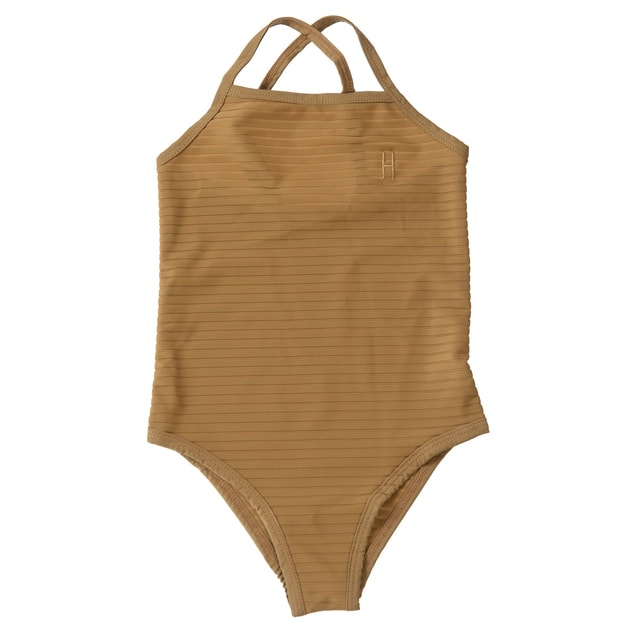 Little Hedonist UPF50+ Swimsuit Antique Bronze