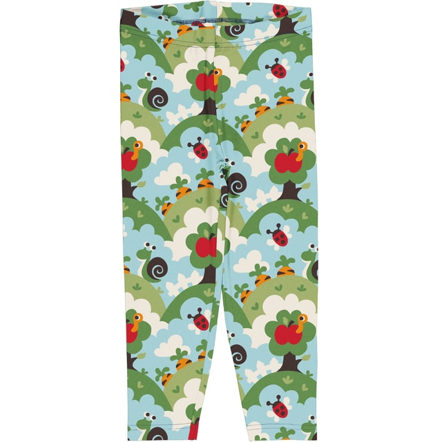 Maxomorra Garden Cropped Leggings