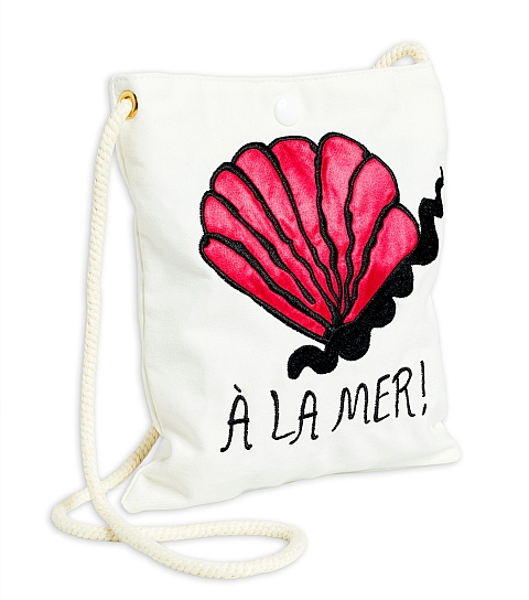Mini Rodini  A la mer beach bag
