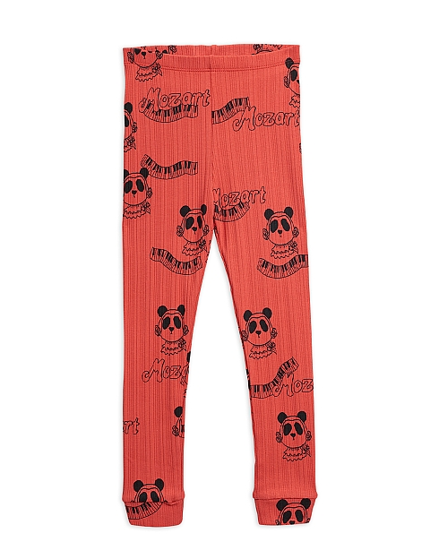 Mini Rodini  Mozart Leggings pants red