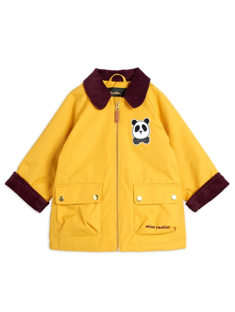 Mini Rodini Padded Coutry Jacket  Yellow