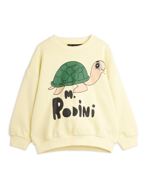 Mini Rodini Turtle Sweatshirt sp Yellow