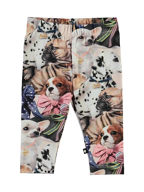 Molo Kids Stefanie Puppy Love Leggings