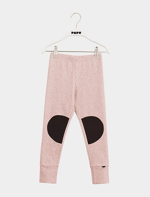 Papu Patch Leggings  Pink Melange