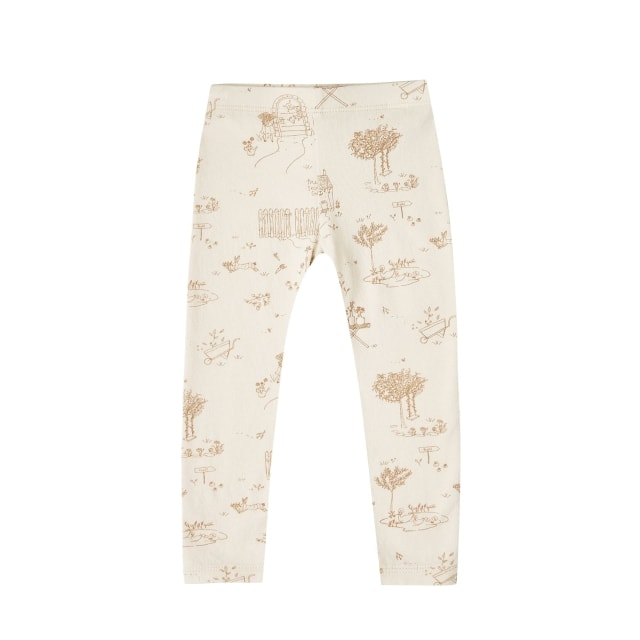 Rylee + Cru Secret Garden Leggings natural